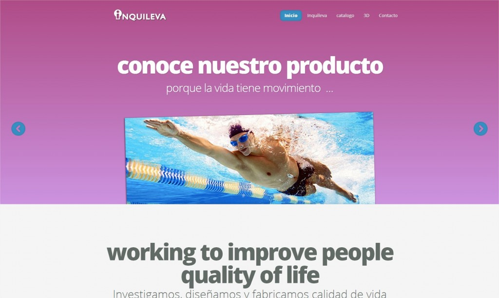Inquileva  working to improve people quality of life - Google Chrome