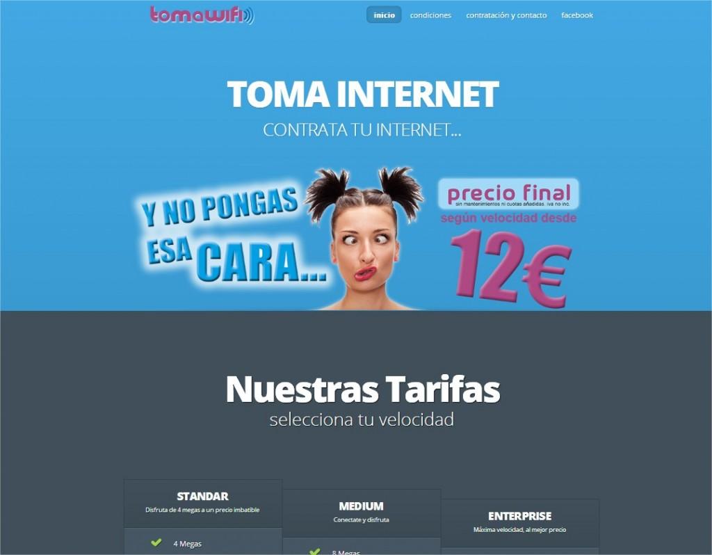 TOMAWIFI  El internet que estabas esperando -