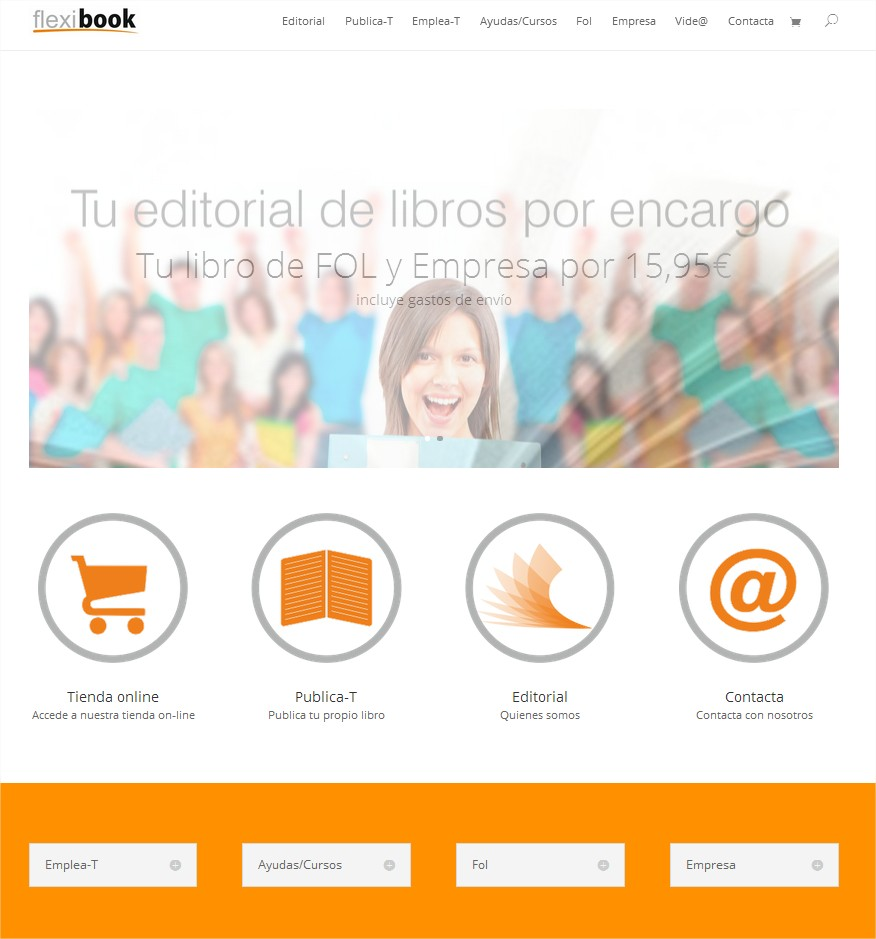 flexibook  Tu editorial de libros por encargo - Google Chrome
